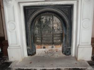 諸戸邸洋館 暖炉