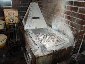 うなぎの焼台 修理前