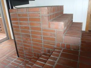 レンガ造りの階段2